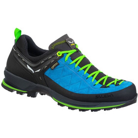 SALEWA MTN Trainer 2 GTX Shoes Men blue danube/fluo green